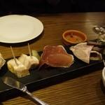 ビストロ 熟肉 - セレブプレート