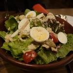 ビストロ 熟肉 - コブサラダ