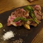ビストロ 熟肉 - プライム熟成アンガス牛リブロース