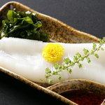くま咲 - 料理写真:赤イカ刺身