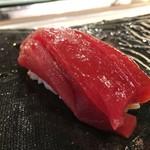 第三春美鮨 - シビ 腹上二番 118g 延縄漁 熟成4日目 和歌山県勝浦