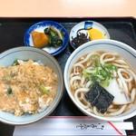 福そば - 丼セット