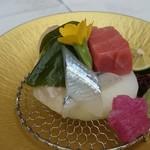 割烹 松ヶ枝 - 細魚・桜鯛・鮪