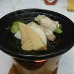 割烹 松ヶ枝 - 陶板焼