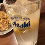 ホルモン俵屋 - 特製レモンサワー