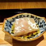 馳走 とし藤 - 明石の鯛