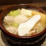 馳走 とし藤 - 鰆のつみれ鍋