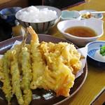 えびいち - 天ぷら盛合わせ定食