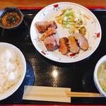 牛たん焼き 仙台辺見 - 上タン定食
