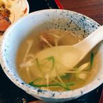 牛たん焼き 仙台辺見 - スープ