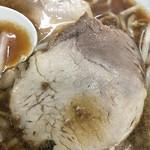 丸福 - 余分な脂の無いチャーシュー