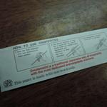 IKR51with五拾壱製麺 - 外国人観光客用に箸の使い方を入り