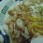 IKR51with五拾壱製麺 - 「かす」らしい香ばしさと独特の肉味。