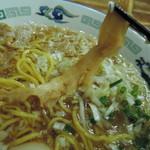 IKR51with五拾壱製麺 - 穂先メンマは和風の上品な味でウマイ。