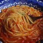 チアー・キッチン - フェデリーニ系のパスタはアルデンテが有ります。