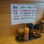麺屋 海老蔵 - 油
