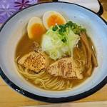 63081611 - 鰤らあめん(醤油)+味付玉子