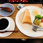 さくら珈琲 - トーストのセット