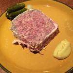 63089364 - 田舎風のお肉のパテ 1400円