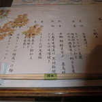 6309002 - 2010年12月の酒楽活菜のメニュー
