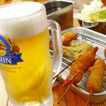 浪速屋 - ビールで乾杯!