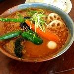 ドロッピン - ひき肉納豆と野菜の30番・エビスープ