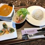 タイレストラン タニサラ - マッサマンカレーセット 税込1,180円