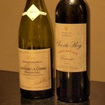 焼肉yamazon - 赤:Clos du Roy Cuvée Arthur 2005 赤:Santenay-La-Comme premier Cru 2011