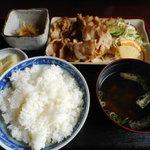 大城 - 焼肉定食 700円