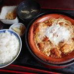 大城 - カツ煮定食 760円