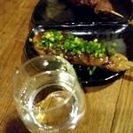 駕籠屋 - 日本酒、鴨つくね、かしら