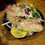 駕籠屋 - 鯛の昆布〆