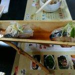 京橋 幸太郎 - 想像を絶する鯖寿司 220円