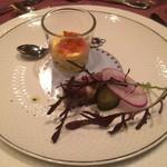 レストラン・タカノ - おとうし : 鹿と豚足のテリーヌ