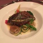 レストラン・タカノ - メイン魚料理 : アイナメのポアレ