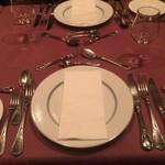 レストラン・タカノ - テーブルにて