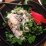 魚米 - 釜揚げしらすの柚子シーザーサラダ