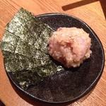 魚米 - 鮮魚のなめろう