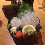 魚米 - 皮はぎのお造り