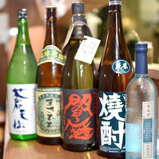 日本酒や焼酎