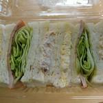 中井パン店 - みっくすサンド