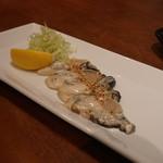 昇家 - 塩牡蠣焼き