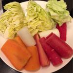 向日葵 - 野菜盛り