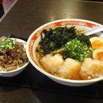 麺一筋 桜木町店 - 「魂のラーメン」なんだそうですよ。