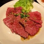 焼肉ハウス - 特上ロース(シンシン)1480円
