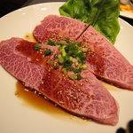 焼肉ハウス - 米沢牛ミスジ1880円