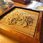 丹三郎 - コース終盤のお蕎麦