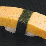 寿しのむさし - 料理写真:玉子にぎり