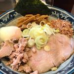 兎に角 - 油そば(780円)+温泉玉子(100円)