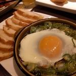 Koume - シラスと九条ねぎのアヒージョ